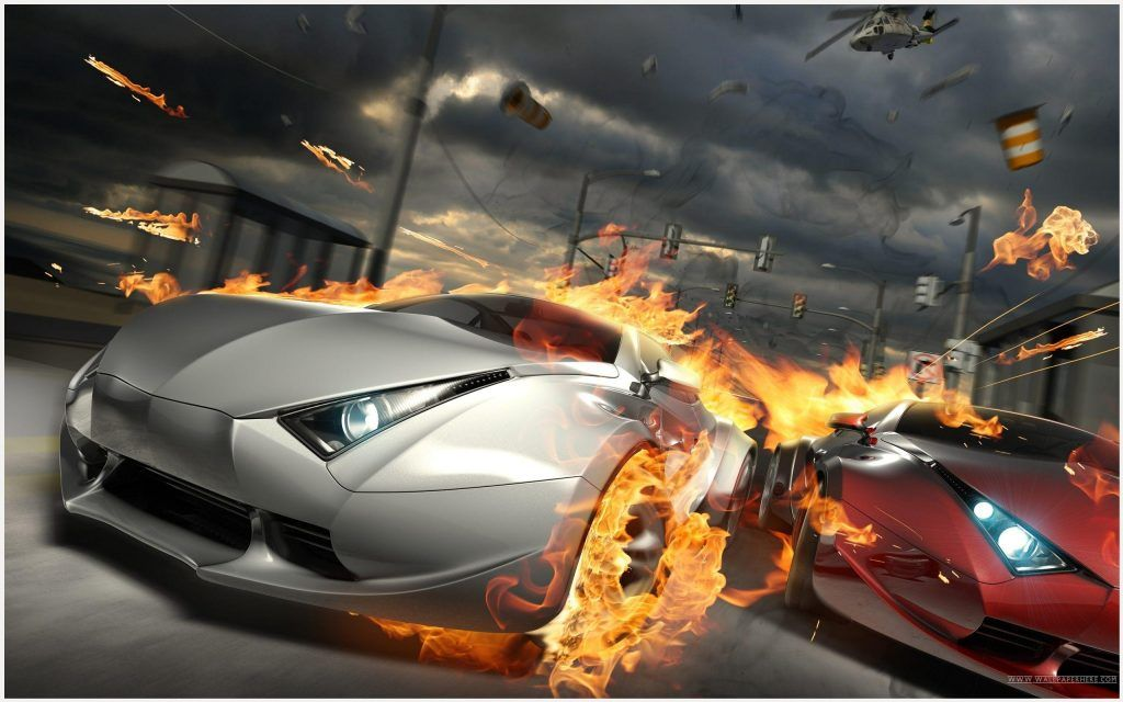 Car Race Game Wallpaper HD