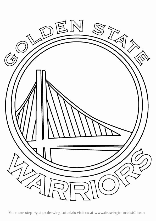 24 golden state warriors coloring page  golden state