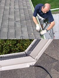 Roof Deicing Amp Gutter Heat Gutter Covers Ice Dams Home