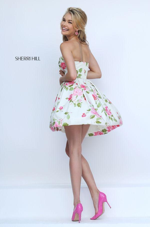 Sherri Hill 50116. Ivory Prom DressesRed ...