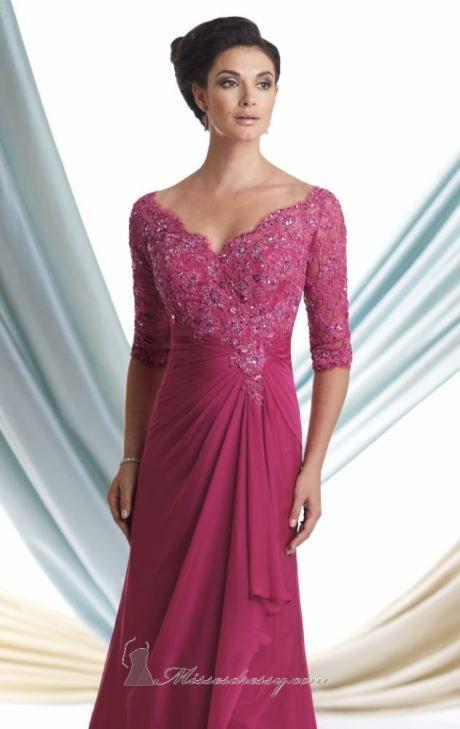 Chiffon Dress by Mon Cheri Montage | Vestidos de baile largos ...