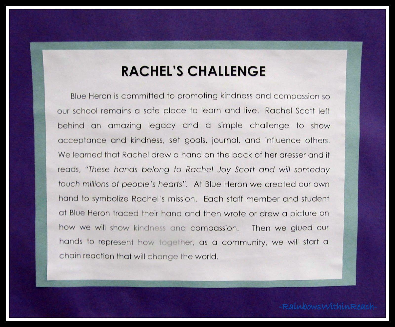Rachel S Challenge At Blue Heron Elementary Littleton Co