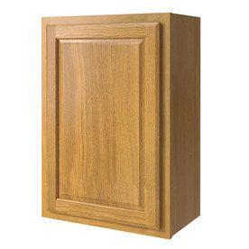 Shop Kitchen Classics 21 In W X 30 In H X 12 In D Finished Portland Oak Single Door Kitchen Wall Cabinet At Lowe Stock Cabinets Door Wall Kitchen Wall Cabinets