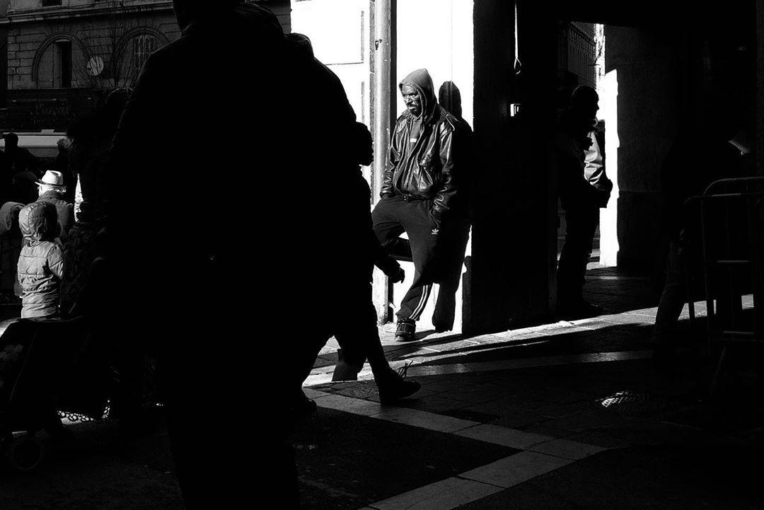 "Argazki on Instagram: ""On the street ""#photography #bnwphotography #leicax1 #leicaphotography#bnw_captures #marseillestreetphotography…"""