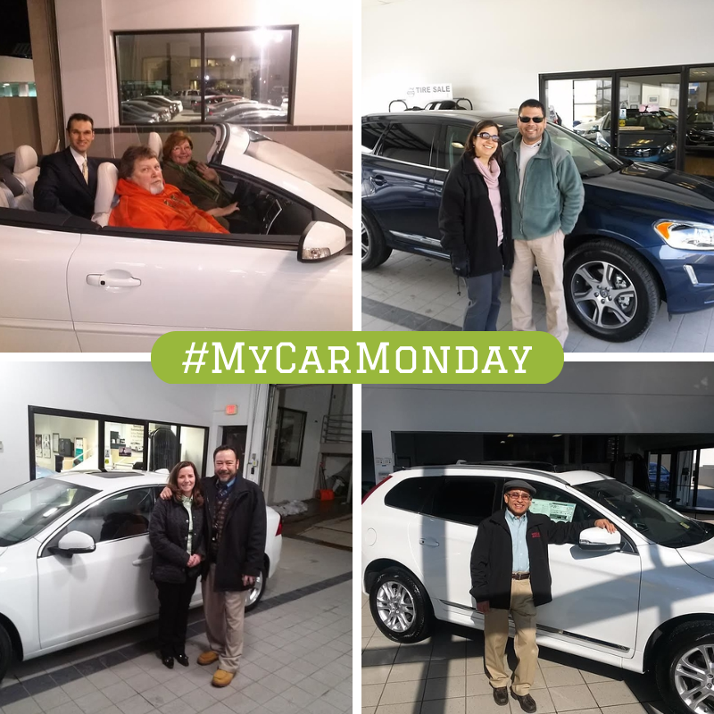 Here are a few pics from satisfied customers who visited us over the weekend to purchase a new car.   Congratulations and welcome to the Fairfax Volvo family! #MyCarMonday
