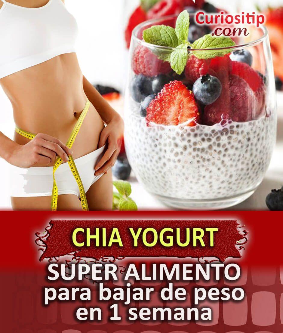 Chia Yogurt Alimento Efectivo Para Adelgazar Curiositip Chia Para Adelgazar Alimentos Para Adelgazar Alimentos Para Bajar De Peso