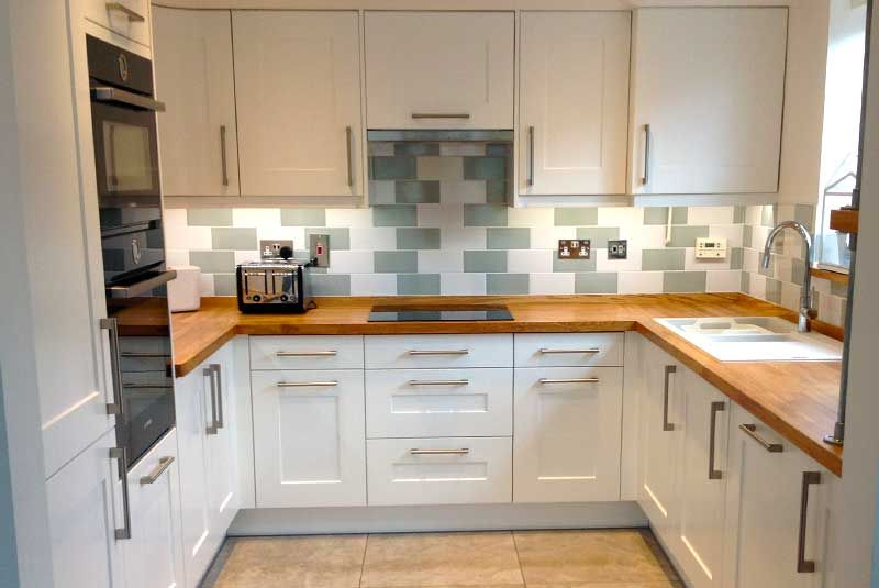 Shaker White Real Kitchens Diy Kitchen Real Kitchen Modern