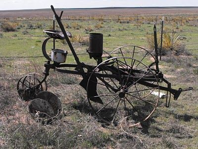 John Deere Single Row Planter Old Farm Machinery Tractors Old