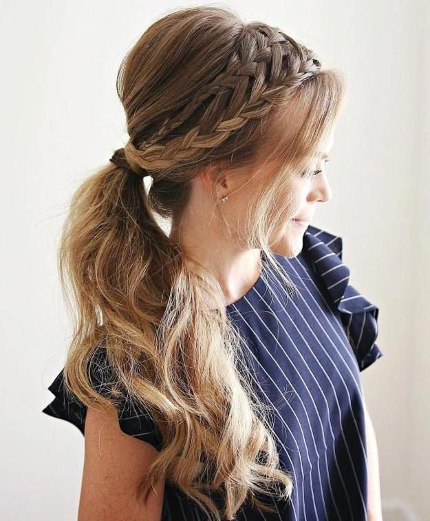 The Boat Neck Dress Or The Bateau Neckline Lowers A Bit At The Neck And Rises Towards The Shoulders Offering Braided Hairstyles Hair Styles Long Hair Styles