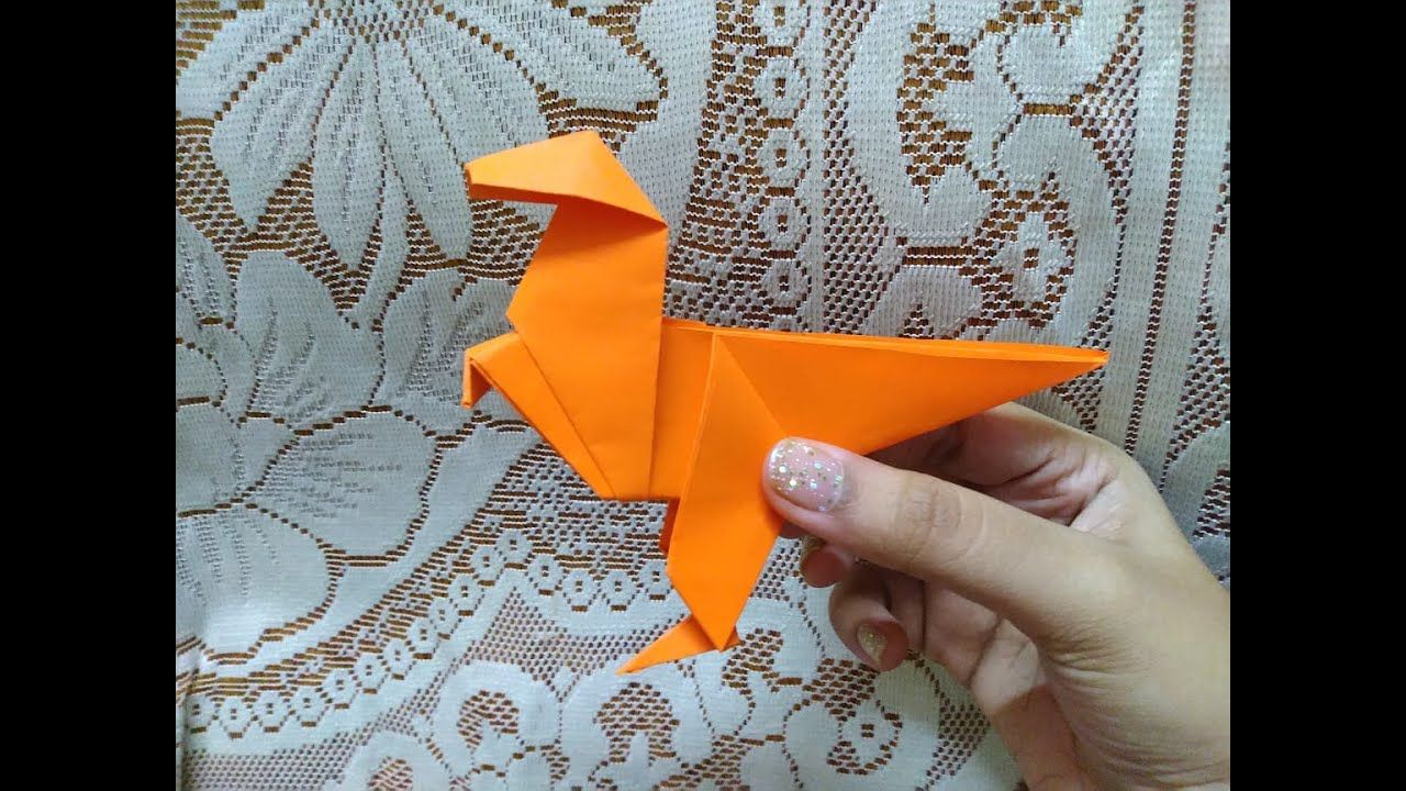 Photo of HOW TO MAKE ORIGAMI DINOSAUR | ORIGAMI T-REX | PAPER DINO (50th video)
