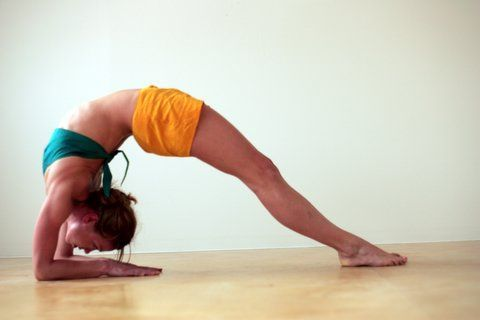 this week's pose is two legged inverted staff pose round 2
