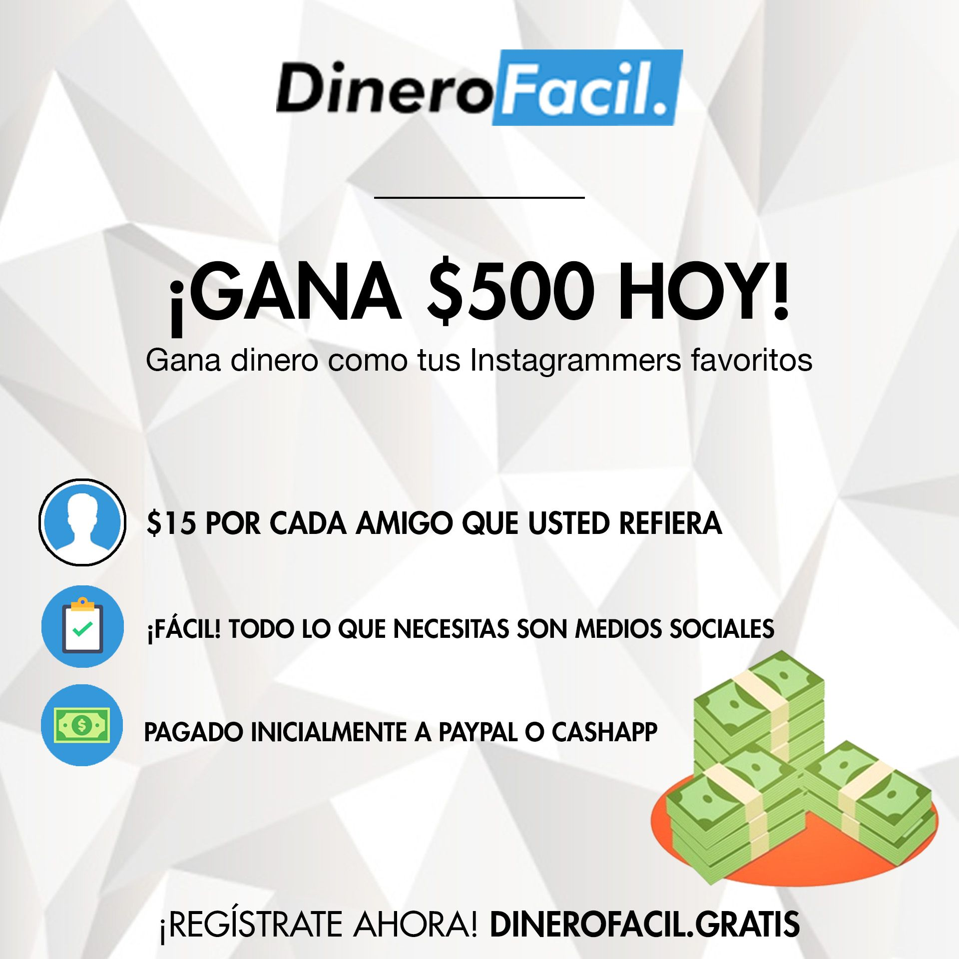 Dinero Facil Is A Social Earning Platform That Enables Users To