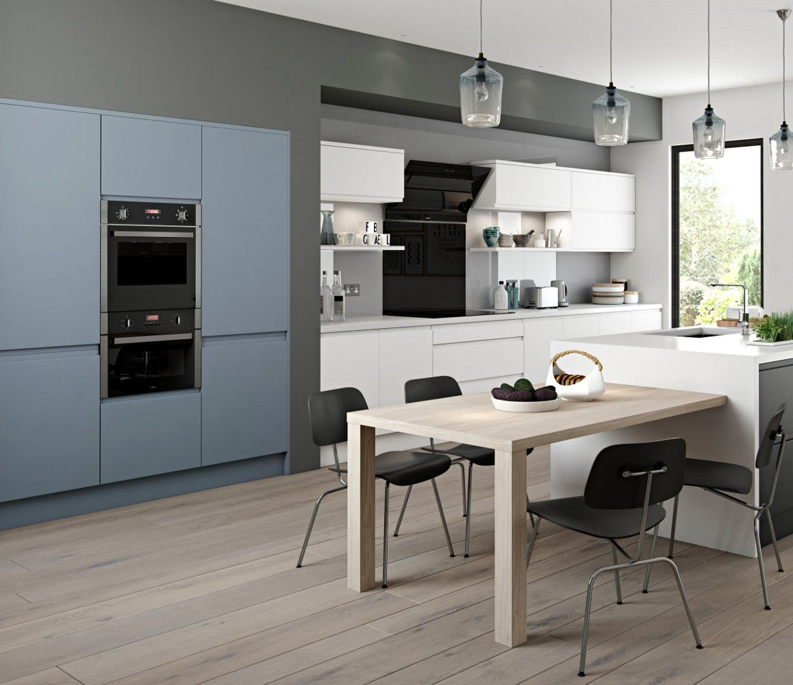 Kitchen Furniture Direct Arena Style In Denim White An Ethos Kitchen Choose Style Range