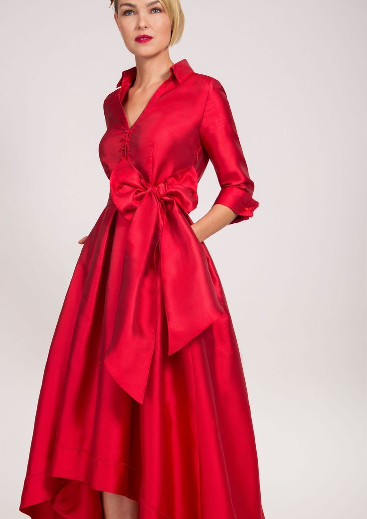 Red party dress -   13 dress Red chic ideas