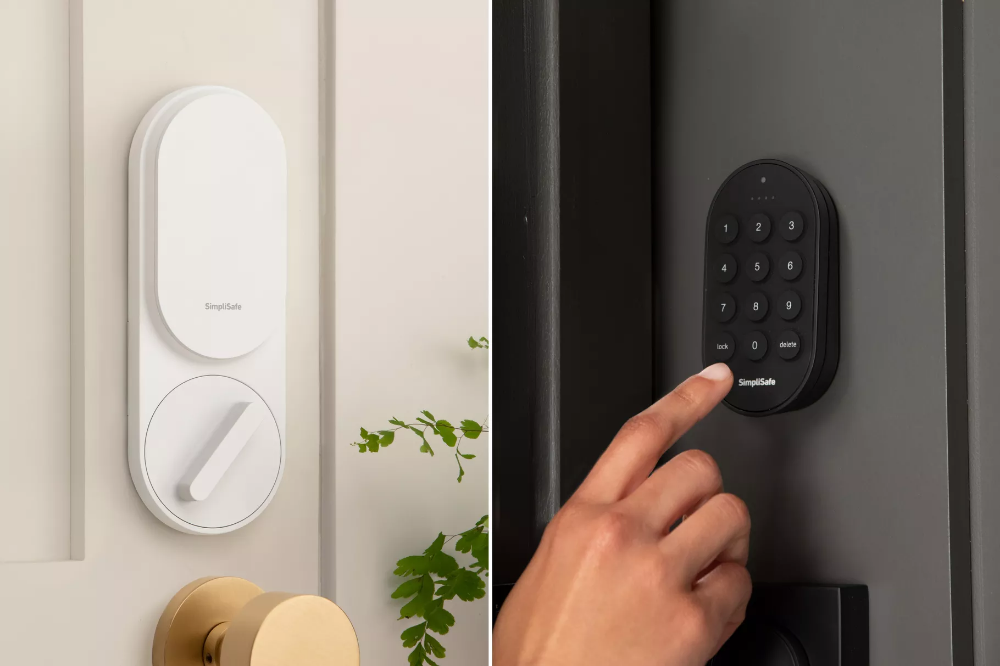 Simplisafe S New 99 Smart Lock Automatically Bolts When You Arm Your Alarm Simplisafe Smart Lock Home Security