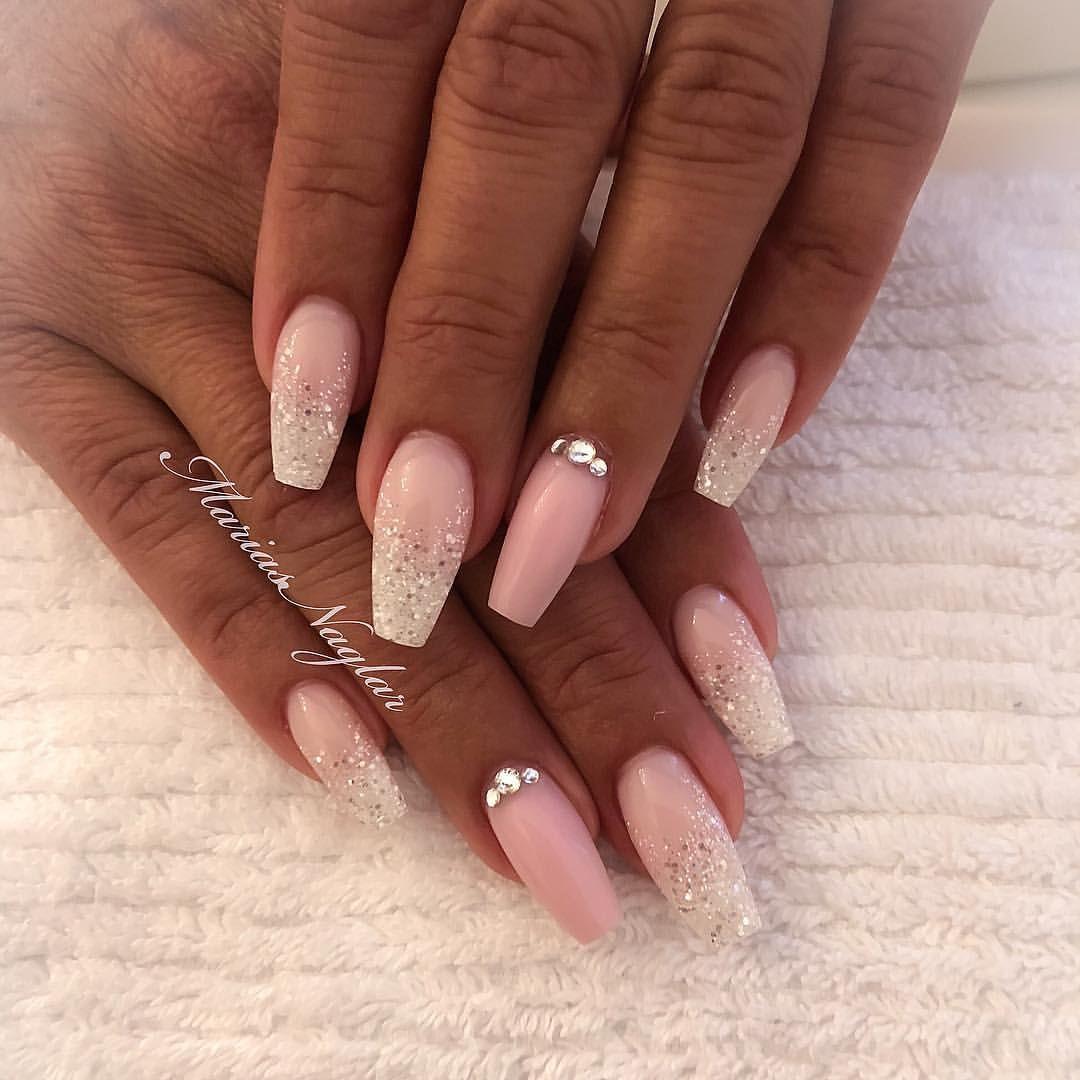 snygga enkla naglar