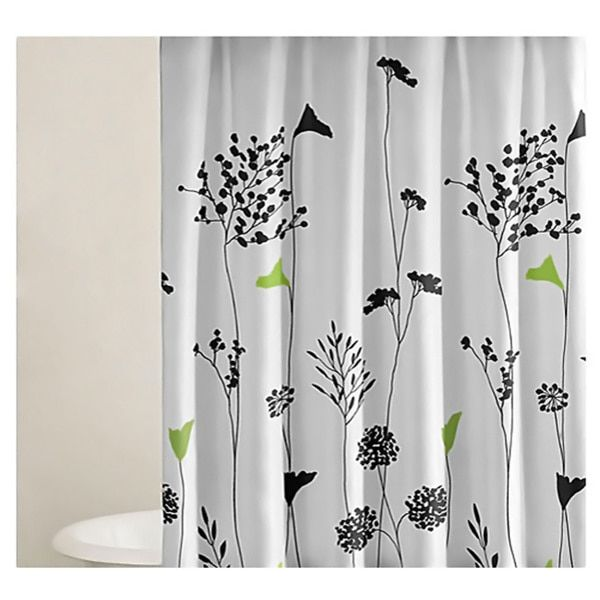 Asian lily shower curtain