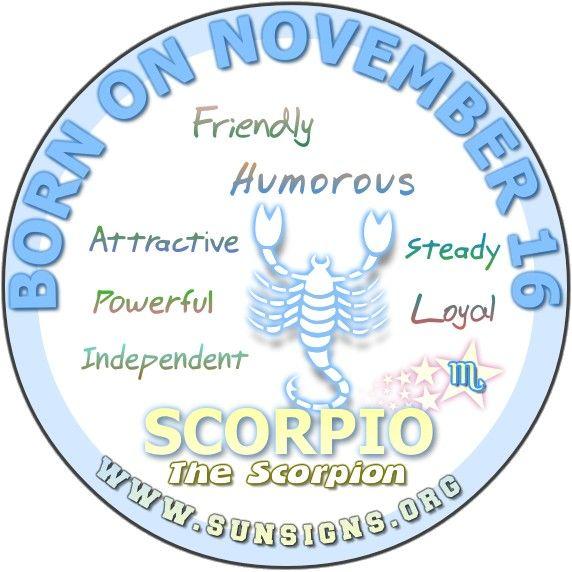 Nov 16 zodiac sign