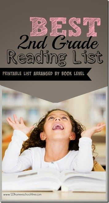 FREE Printable 2nd Grade Reading List | 2nd grade reading ...