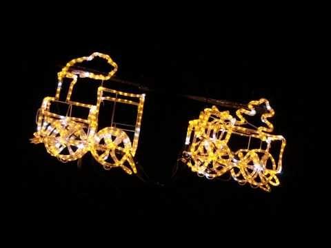 LEDロープライトトレイン|キヌガワ