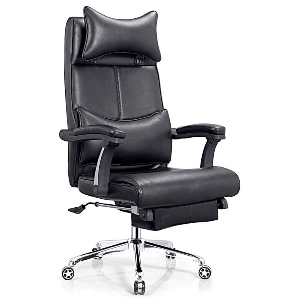 Kotag Comfortable Swivel Executive Chairs Leather Comfortable Office Chairs Computer Chair Padded Desk Chair Home Offi In 2020 Office Chair Stylish Office Chairs Chair