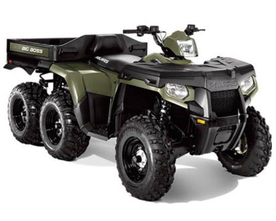 Polaris Sportsman Big Boss 6x6 800 Atv Is One Of The Hardest Working 6x6 Atv Ever Its Key Features Are 760cc Twin Cylinder Efi En Vehicles Atv 4 Wheelers