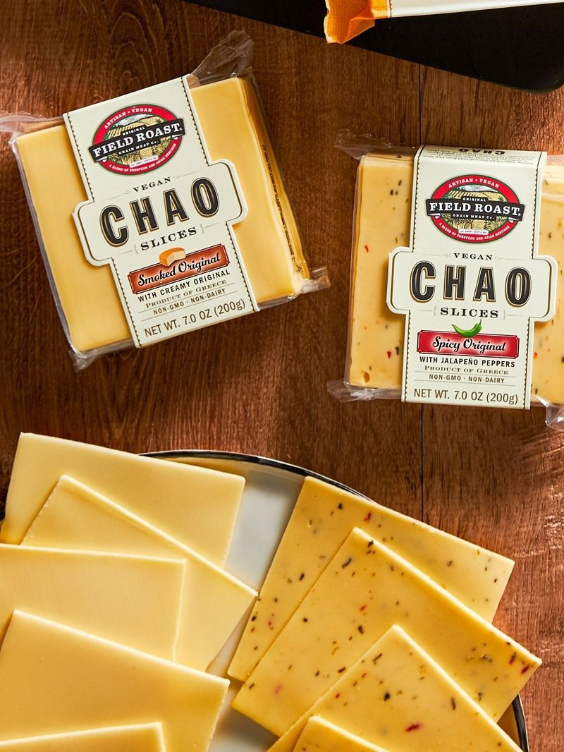 Chao Vegan Cheese Slices By Field Roast Reviews Information In 2020 Field Roast Cheese Alternatives Vegan Cheese