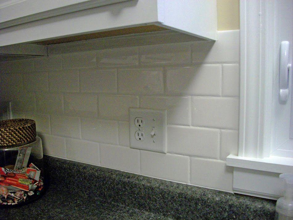White glass tile backsplash gallery subway kitchen also