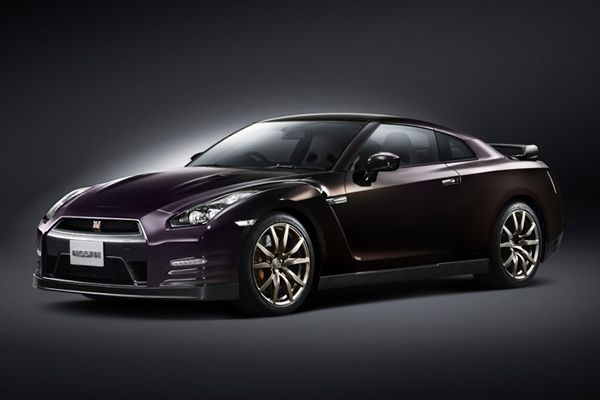 2014 Nissan GT-R Midnight Opal Special Edition is available in the US