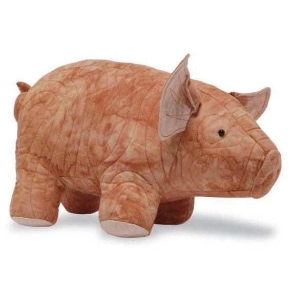 Rumpled Quilt Skins Pig Sewing Pattern, PDF format. $8.50 ... : rumpled quilt skins - Adamdwight.com