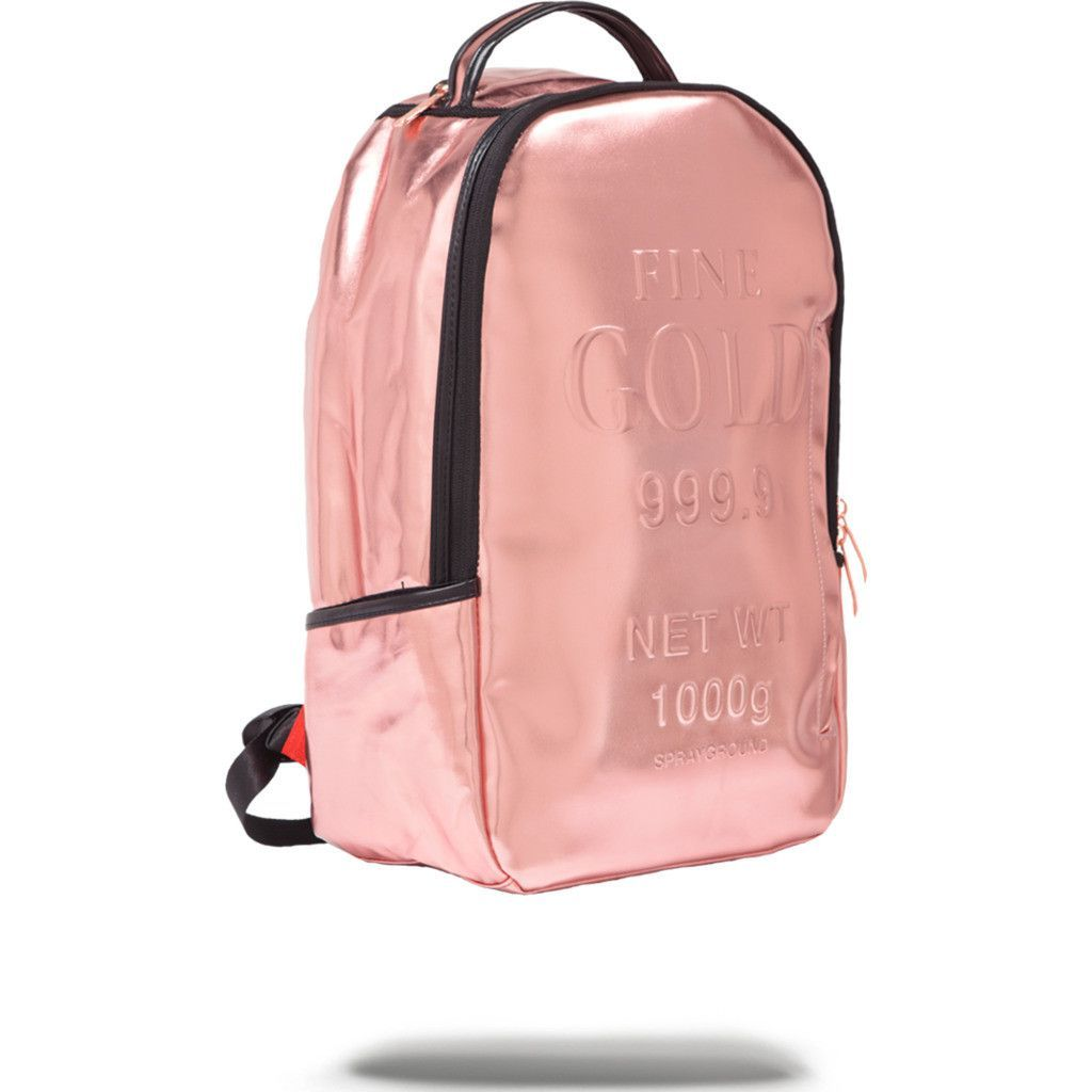 68b82b988837 Sprayground Rose Gold Brick Backpack | Rose Gold | Bags in 2019 ...
