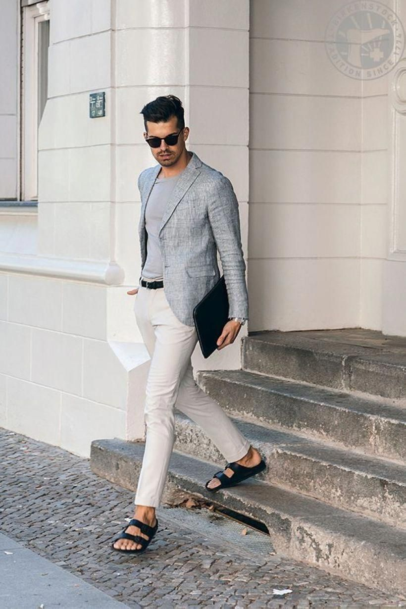сандали #MensFashionSmart | Men casual, Mens fashion:__cat__