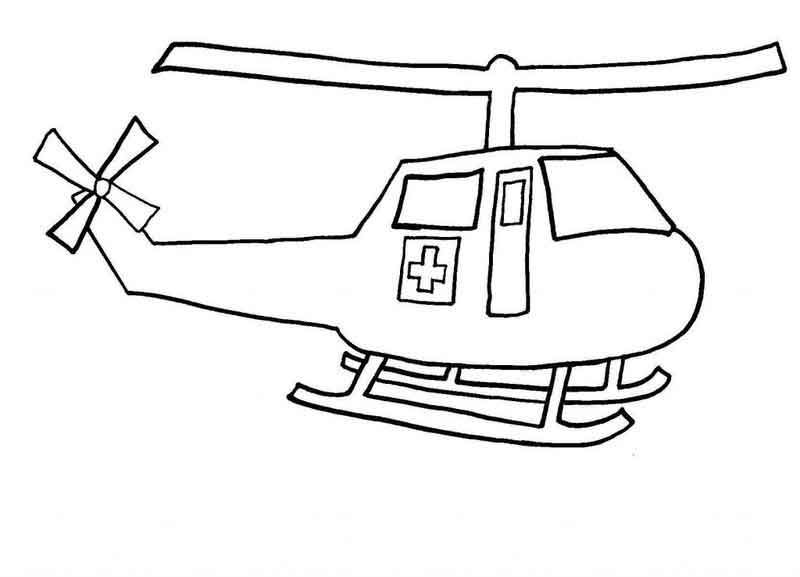 Helicopter Coloring Pages To Print Di 2020