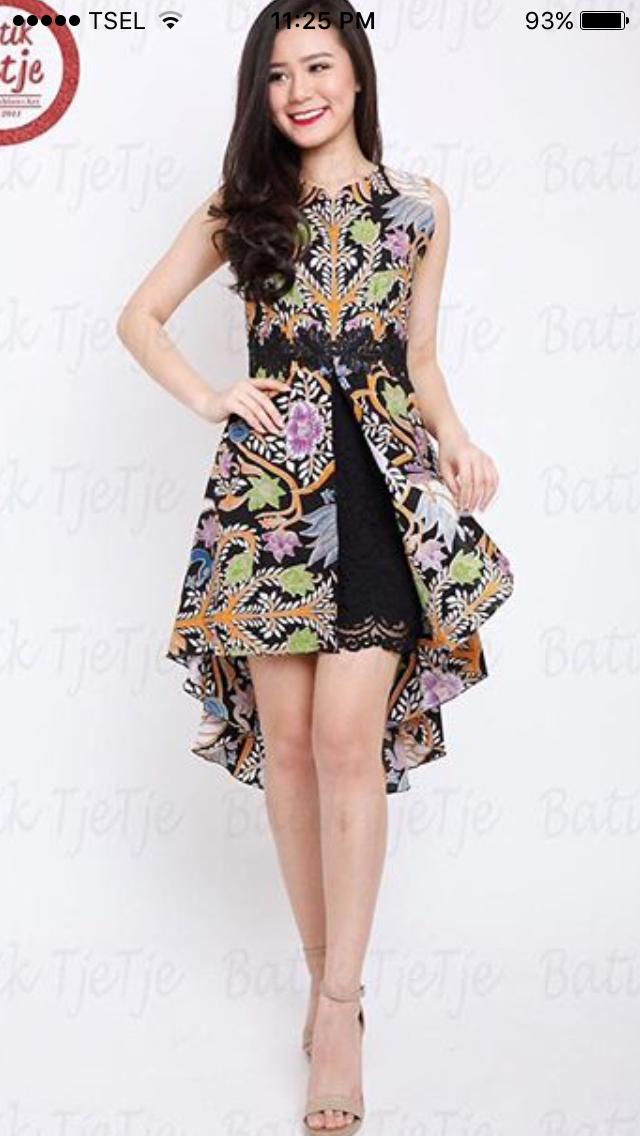 Pin Oleh Lita Maeka Di I Batik Model Baju Wanita Model Pakaian Pakaian Wanita