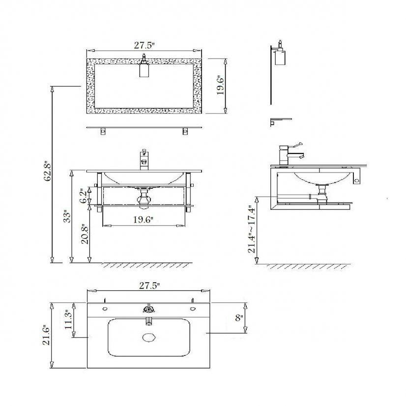 Makeup Vanity Table Dimensions Home Decor 화장대
