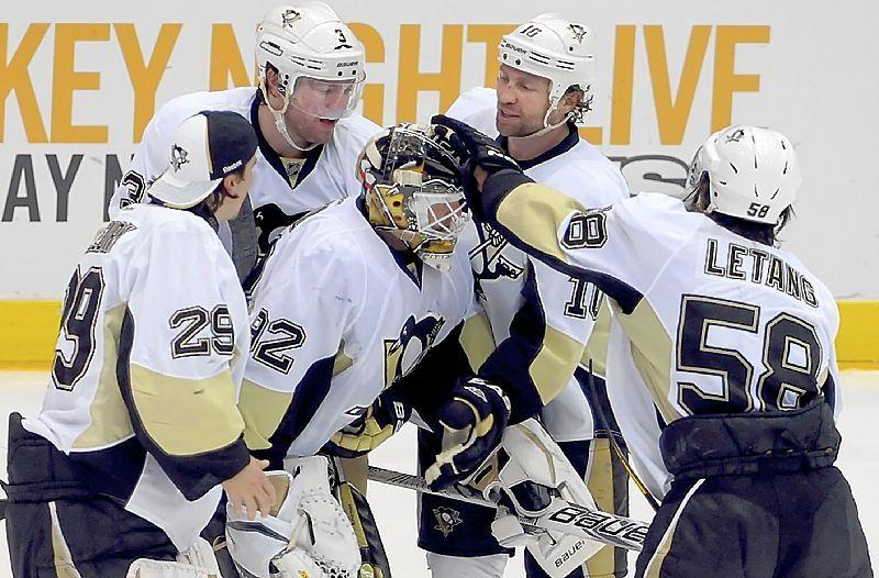 Orpik sends Penguins to series win in overtime Penguins