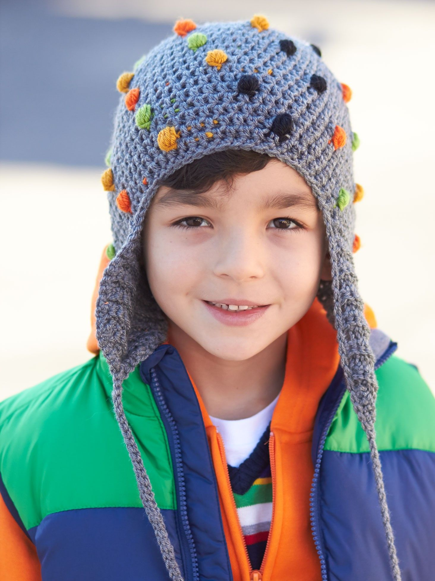 Smarty pants hat patterns yarnspirations crochet hats