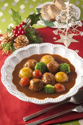 コロコロクリスマスビーフシチュー by ハウス食品株式会社 ...