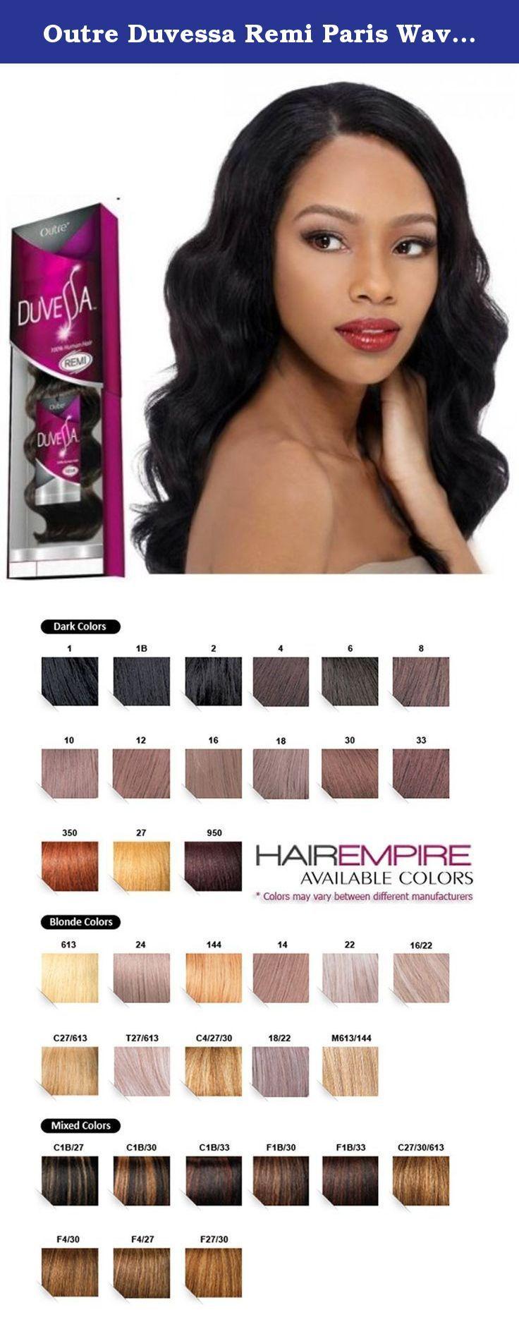 Outre Duvessa Remi Paris Wave 18 4 100 Remi Quality Human Hair