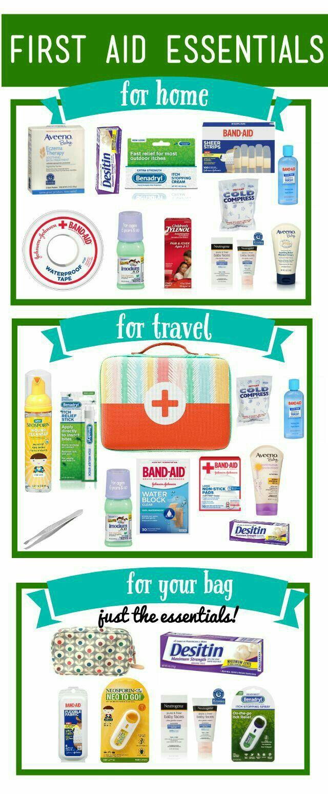 First Aid Essentials Carcampingorganizationdollars Baby Health Kit Travel Camping