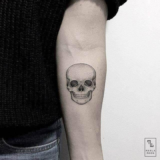 60 Black And Grey Skull Tattoos Skull Tattoos Small Skull Tattoo Tattoos