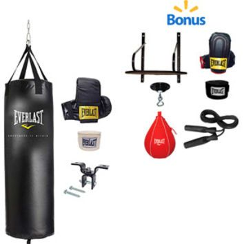 1ea47084665 Walmart  Everlast 70-lb. Heavy Bag Kit and 6-Piece Speed Bag Kit Value  Bundle