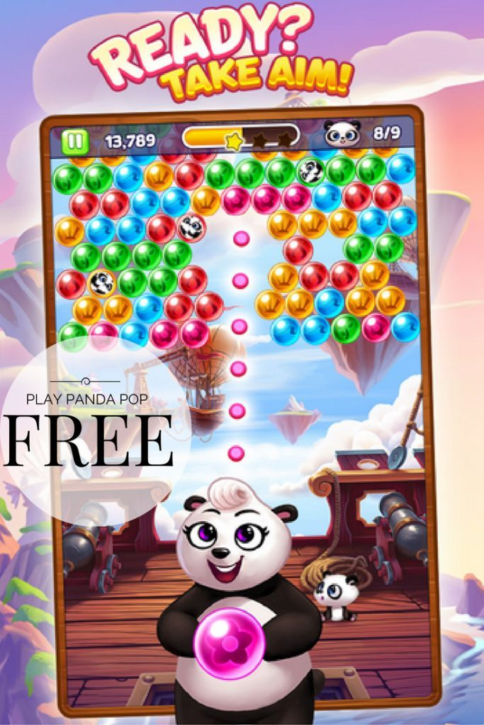 Play Panda Pop FREE Pop, Pop bubble, Bubble shooter games