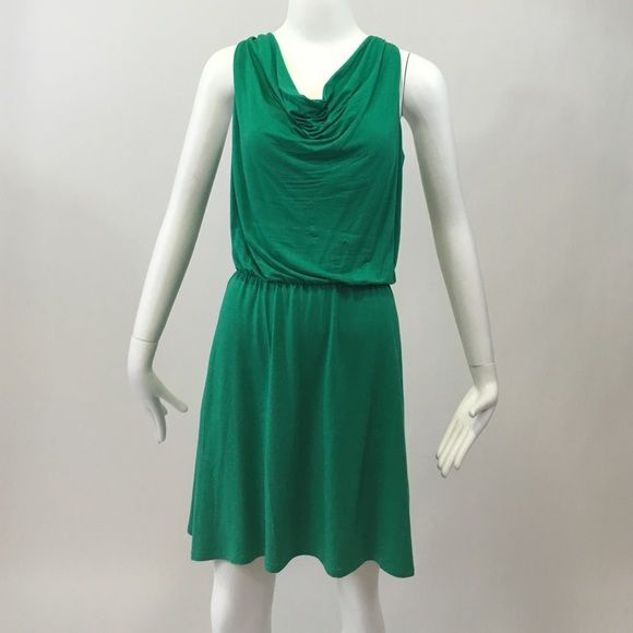 Tart dress Green cowl neck. Soft stretchy fabric. Worn once. Price is firm, NO paypal or NO Trades.  No Holds  Tart Dresses Midi