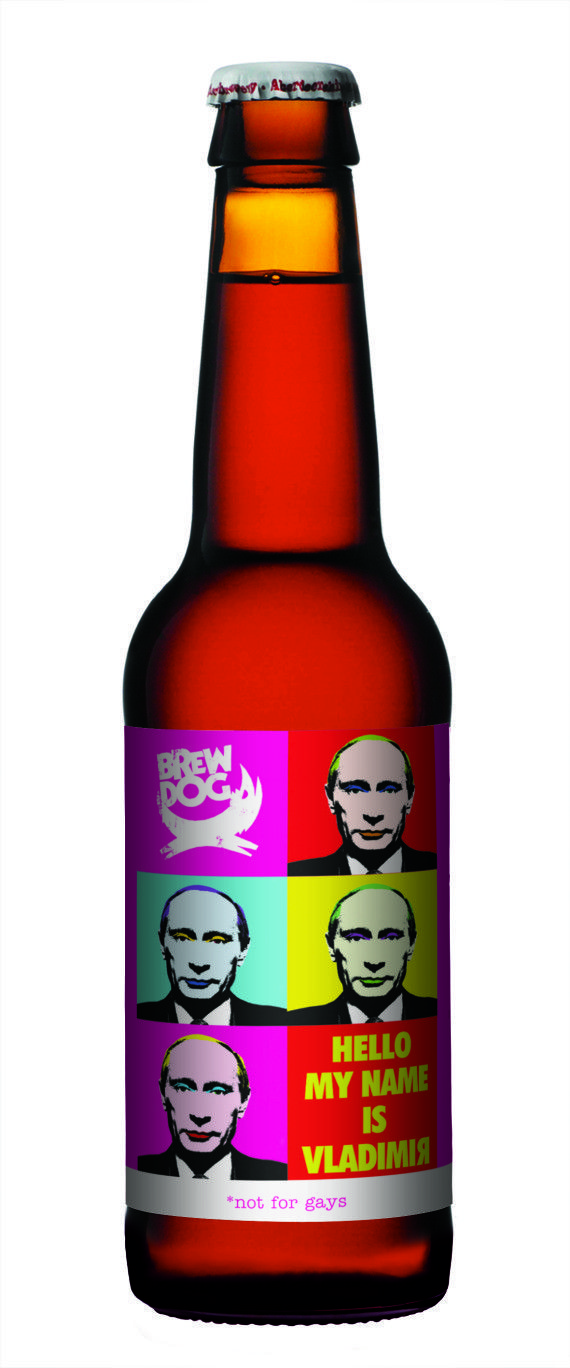 Vladimir Putin 'not for gays' protest beer launched by ... |Putin Beer