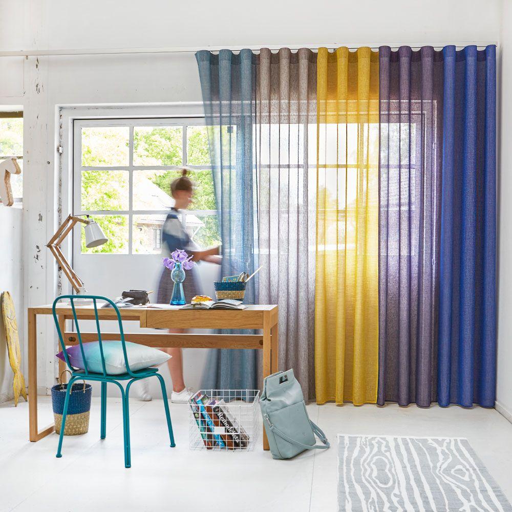 Origineel | Combineer meerdere kleuren stof in één gordijn ...