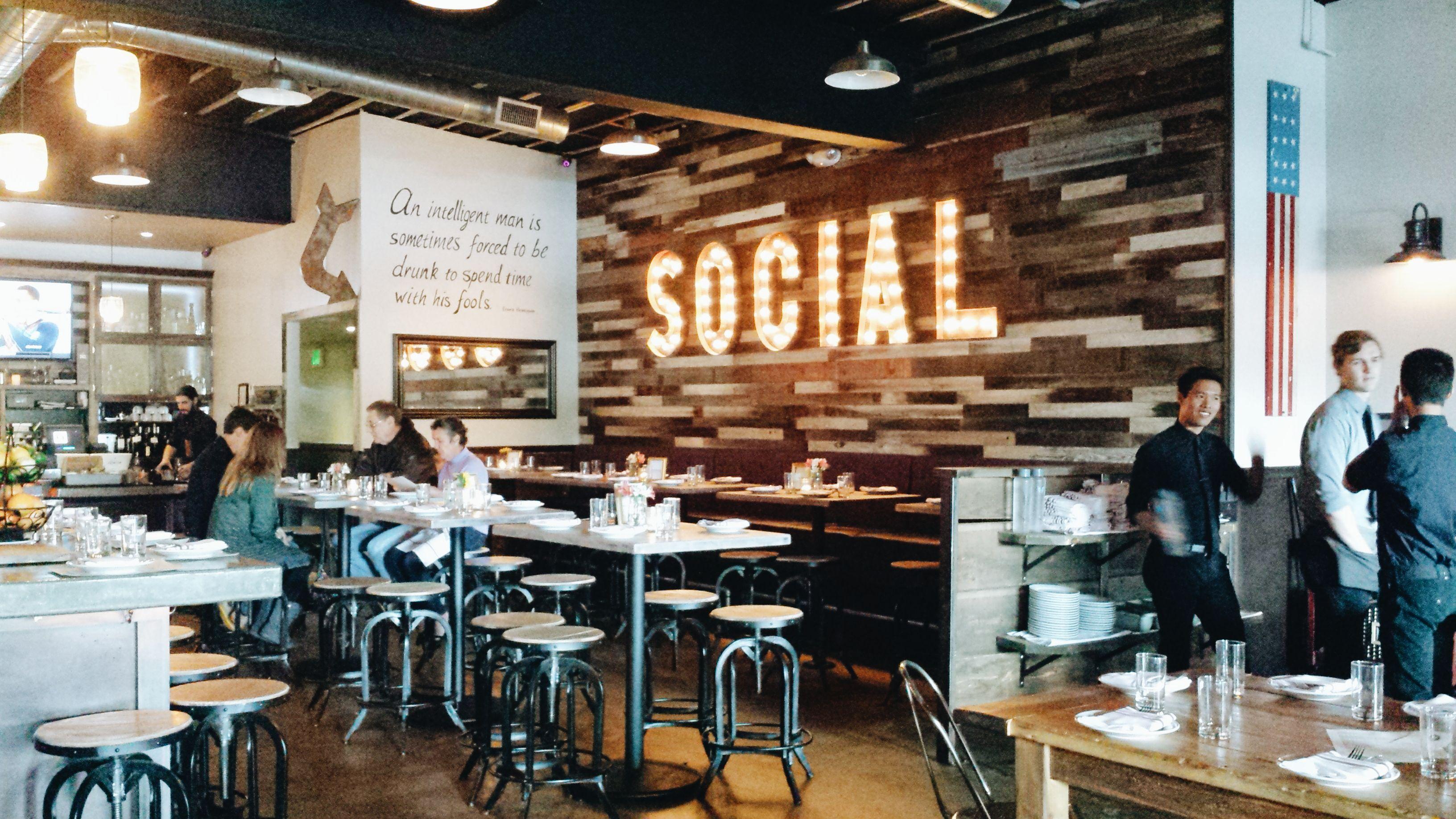 inside social restaurant costa mesa social costa mesa restaurant