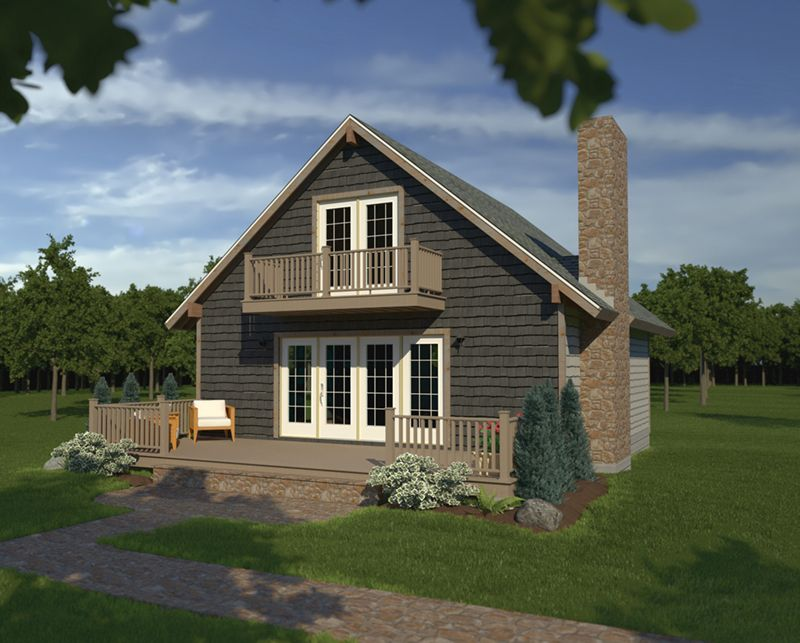 Breezewood Rustic Home In 2020 Cottage Style House Plans Vacation House Plans Cottage House Plans