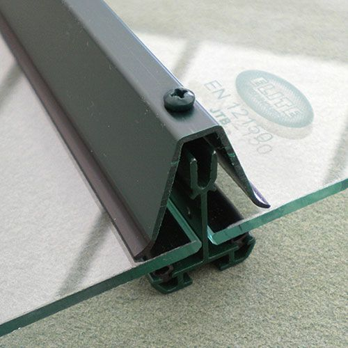 Bar Capping For Elite Streamline Greenhouse Glass Roof Greenhouse Skylight Design