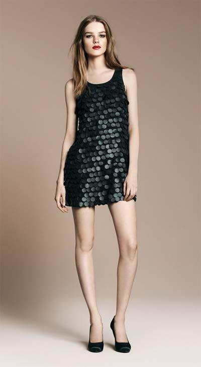 Dress Negro Skirt Y Dresses Styles Zara Vestido Lentejuelas q5886X